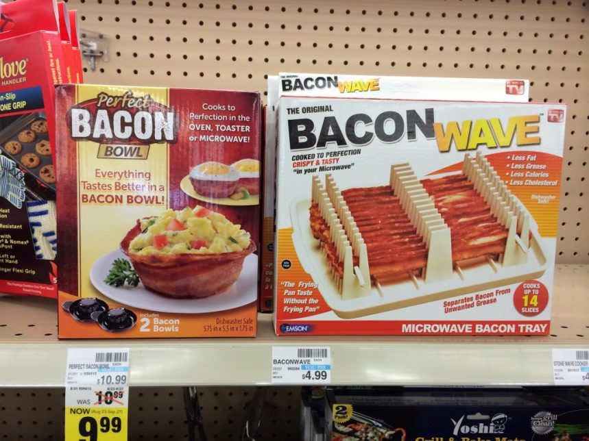 Bacon Microwave grill