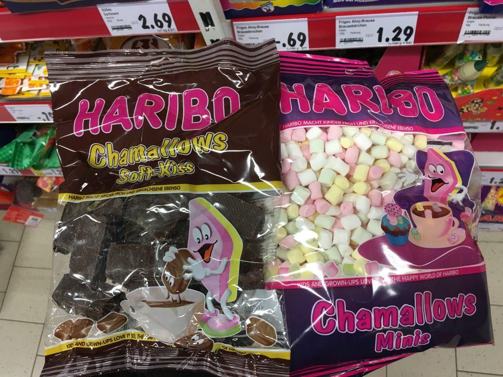 Haribo Chamallows Soft-Kiss und Chamallows Minis