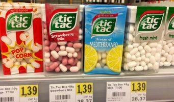 Ferrero TicTac Strawberry-Mix Mediterraneo