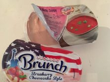 Brunch Strawberry Cheesecake offen