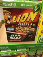 Lion Cereals mit Star Wars-Bezug