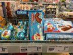 Sandmännchen-Produkte in der Warenauslage