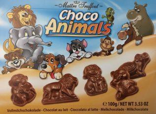 Choco Animals erweitert die Schokokatzenformen um Hündchen, Elefanten und weiteres Getier.