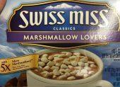 Swiss Miss Marshmallow Lover: Trinkschokoladenpulver in Portionspackungen mit Mini-Marshmallows