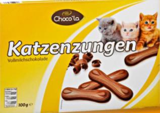 Choco'la Katzenzungen