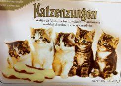 Sarotti Katzenzungen weiße Schokolade