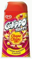 Langnese Calippo Shots mit ChupaChups-Lutscher