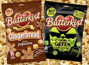 Butterkist Popcorn Lebkuchen