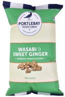 Portlebay Popcorn: Wasabi und süßer Ingwer