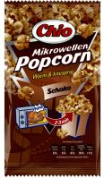 chio-choko Mikrowellen-Popcorn mit Schokoladen-Geschmack