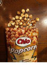 Popcorn mit Toffee-Geschmack von Chio: schön süß!