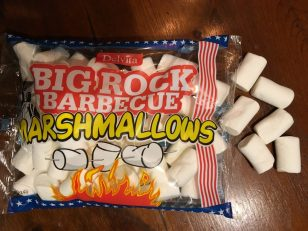 Rocky Mountain-Imitat: Big Rock Barbecue Marshmallows