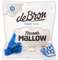 Zuckerfreie Marshmallows von deBron.
