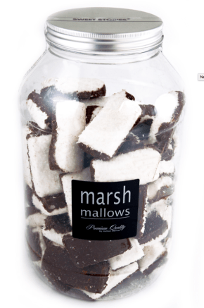 Marshmallow Mellow Sweet STories Baclk + White Kokosraspeln