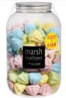 Mellow Mellow Marshmallows Fizzy+Sour in Form von Eisspitzen bunt in Kunststoff-Bonboniere
