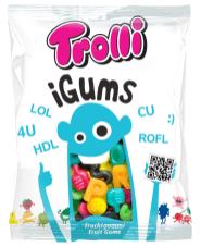 Trolli iGums Fruchtgummi-Buchstaben