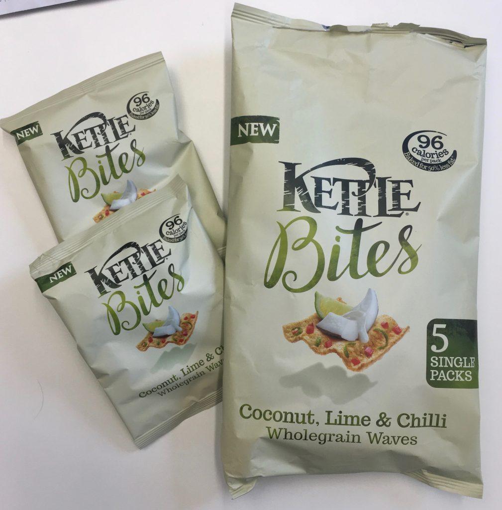 Kettle Bites Conconut Lime Chilli Wholegrain Waves