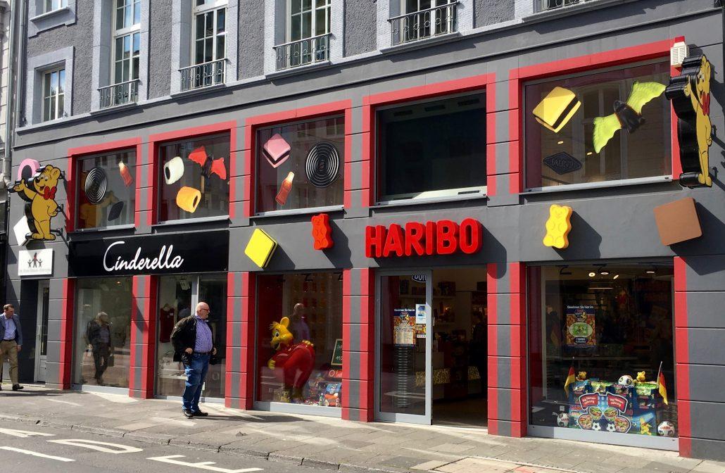 HARIBO-Flagshipstore in Bonn: bunt und lecker