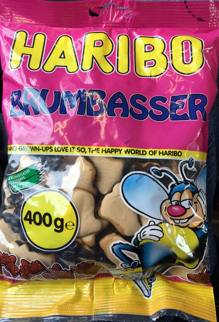 Haribo Brumbasser Lakritz