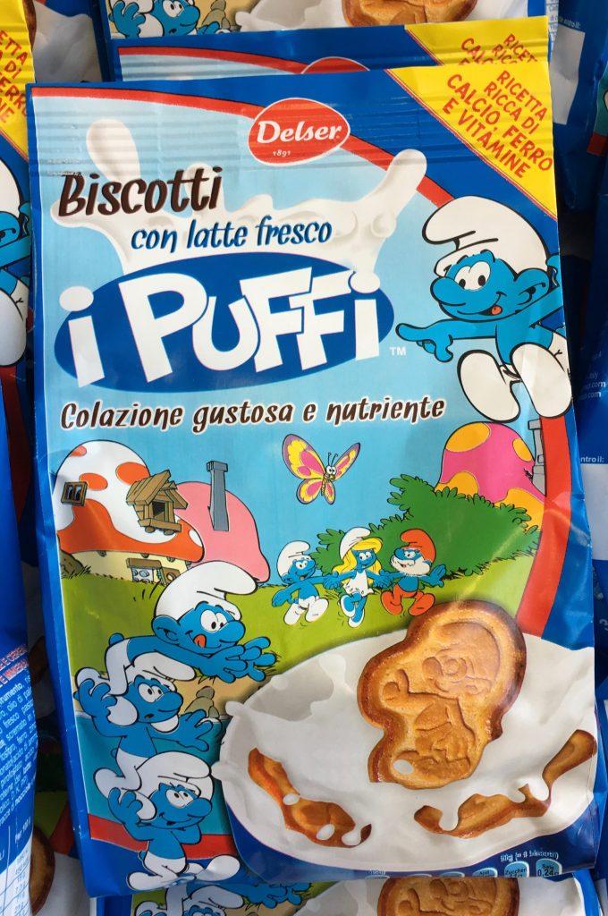 Biscotti Kekse Schlümpfe Puffi