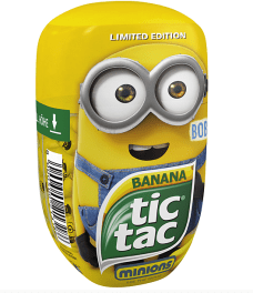 tictac-Sondereditionen Minion