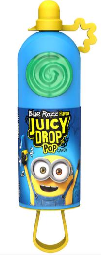 Minion auf Juicy Drop Pop. mit Blue Razz