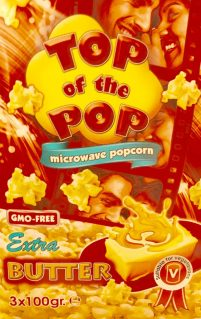 Mikrowellen Popcorn Top of the Pops
