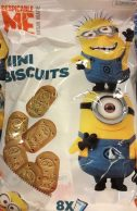 Kekse (Mini Biscuits) mit den Minions (aus Holland).