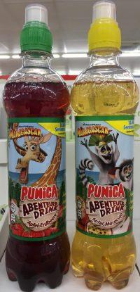 Madagascar auf dem Punica Abenteuer-Drink.