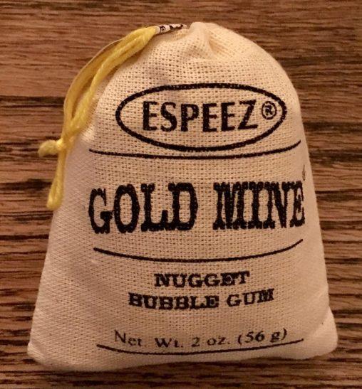 Kaum klein zu kriegen: Ein hartes Kaugummi von Espeez aus Amerika.