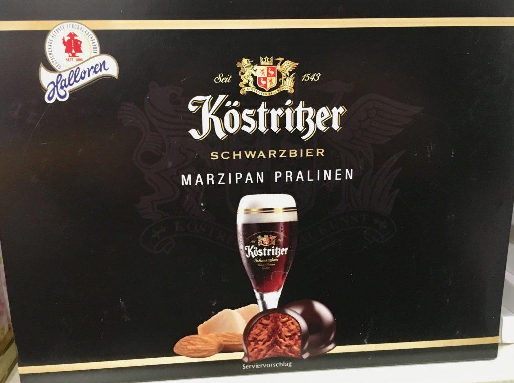 Auch Köstritzer bietet Pralinen an.
