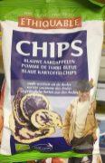 Blaue Kartoffelchips Ethiquable