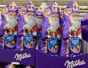 MIlka: Endlich mit einem echten christlichen Nikolaus.