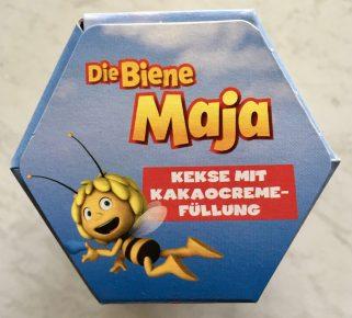 Die Biene Maja Kekse mit Kakocremefüllung Packung von oben