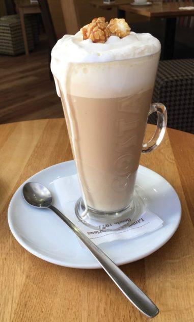 Costa Caffee Caramel Latte Spanien