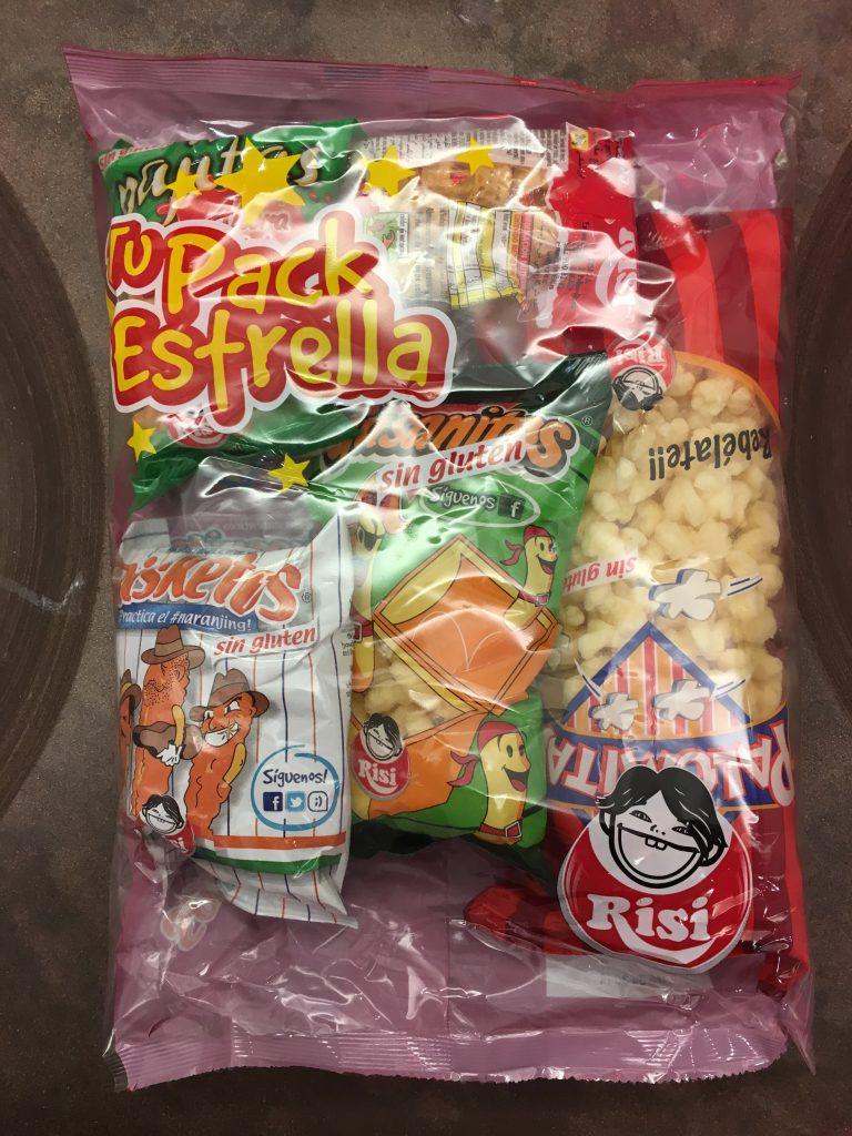 Risi Chips-Gebinde aus Spanien