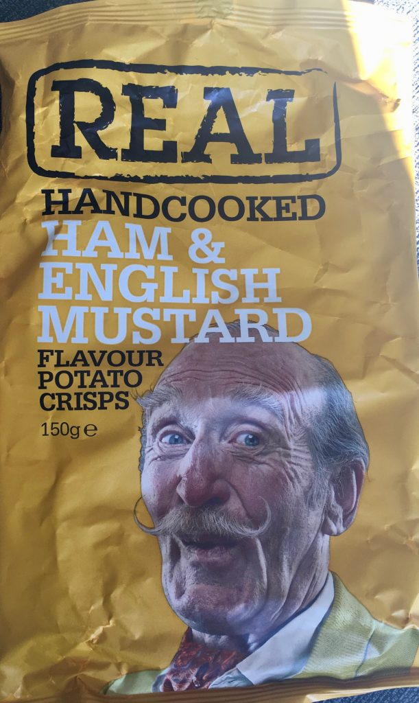 realcrisps Kartoffelchips Ham English Mustard