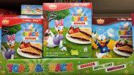 Disney Toast & Snack Erdbeer Apfel-Zimt Sauerkirsch Aldi