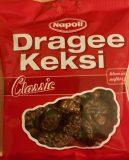 """""""Ach wenn ich doch aufhören könnt'"""" lautet der treffende Claim dieser klassischen Süßigkeit von Napoli: von leckerer Schokolade umhüllte Keksstückchen."""