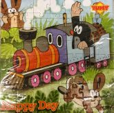 Kleiner Maulwurf Happy Day Puzzle Schokolade