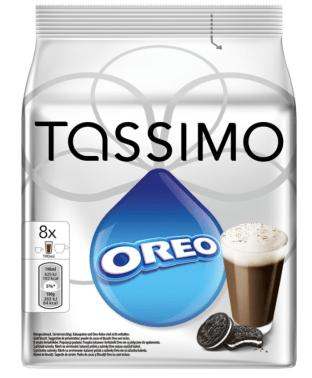 Tassimo-Kapseln auch mit Oreo-Geschmack.