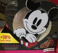 Und der Lizenz-Klassiker zum Schluss: Mickey Maus von Disney in Form einer Pralinendose.