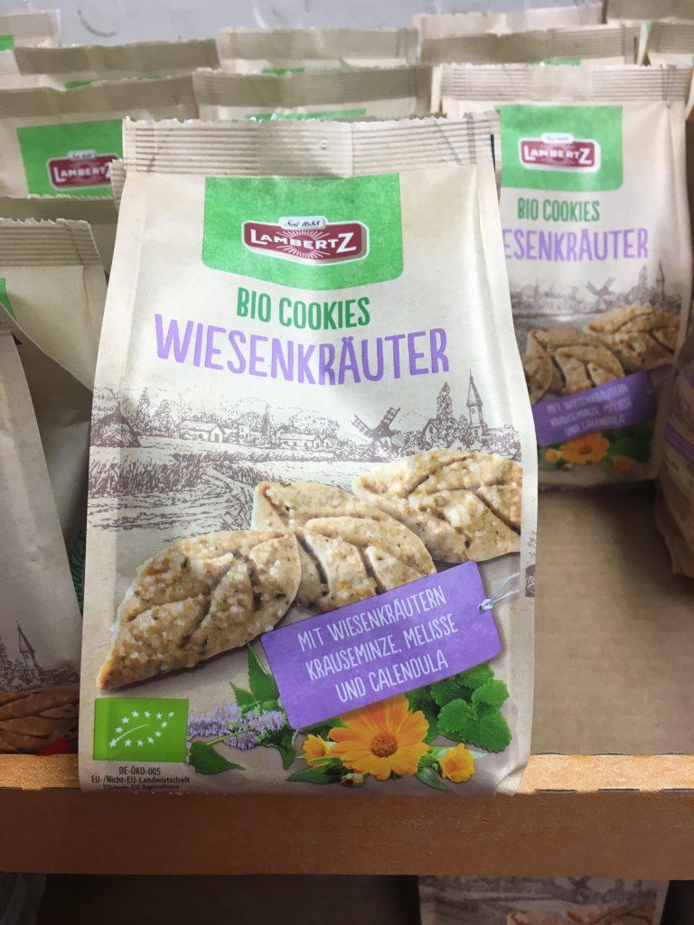 Lambertz Bio Cookies Kekse Wiesenkräuter