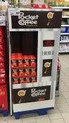 Ferrero PocketCoffee Display POS Kaffeeautomat