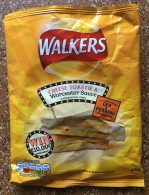Walkers Worcester Sauce Lea+Perrins