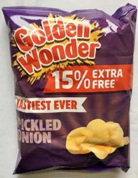 Golden Wonder Pickled Onion