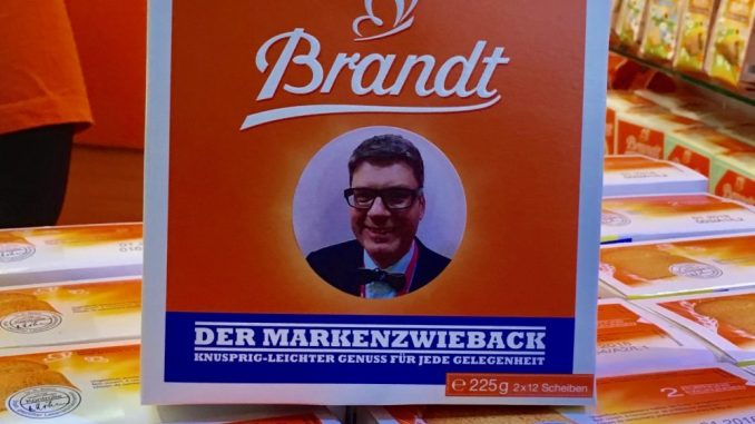 Brandt Zwieback mit Motiv Oliver Numrich Naschkater