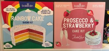 bakedin Rainbow Cake Prosecco Strawberry