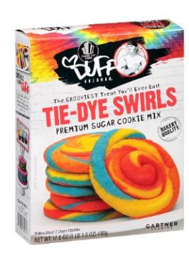 Und weil sie so schön bunt sind, hier noch eine Backmischung von Duff Goldman: Tie-Dye Swirls...
