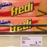 Manner Fredi Butterkeks